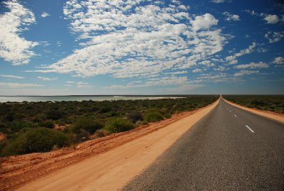 Road to Exmouth