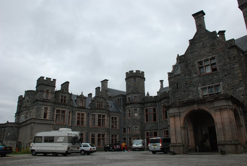 carbisdale castle hostel again