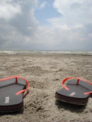 Flip Flops at Lake Nicaragua