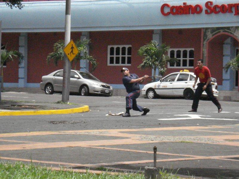 Baseball in Managua