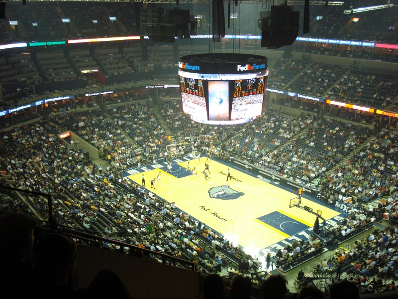 Basketball, Memphis Grizzlies vs S. Ant Spurs