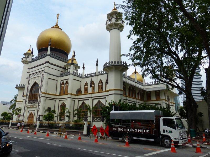 mosquée quartier malais