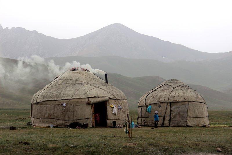 Kyrgyz Yurts