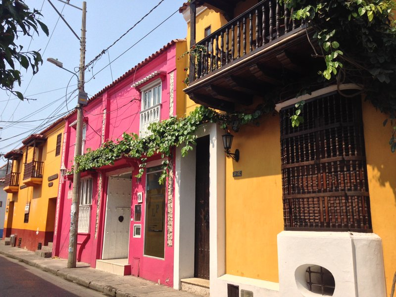 Walking around Cartagena