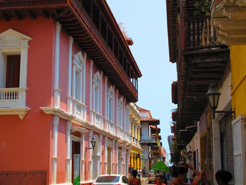 Walking around Cartagena -2