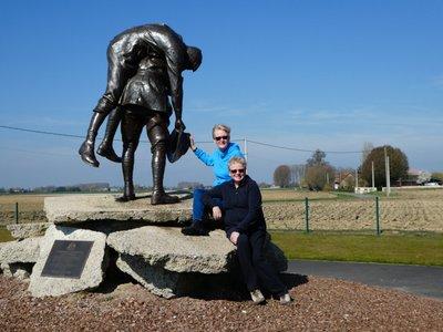 Cobbers Memorial at Fromelles