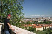 Me with the Prague TV tower