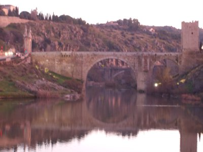 Toledo - Bridge of the Rio Tajo