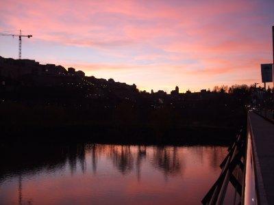 Toledo, Sunset
