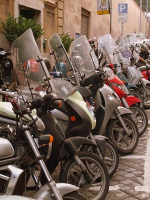 Rome - Scooter City
