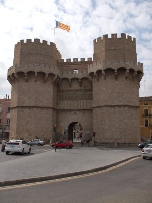 Valencia - Old City Gate