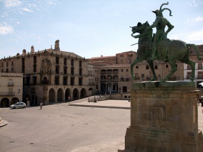 Trujillo, Plaza Mayor