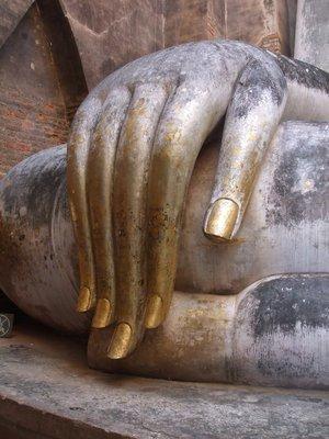 Wat Si Chum Buddha hand