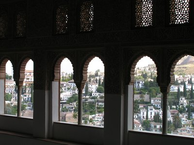 Granada, view from the Alhambra