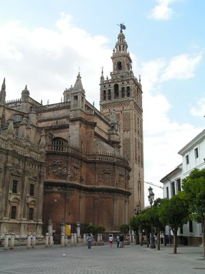 Sevilla - Giralda tower