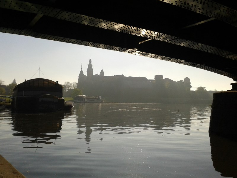 Krakow - Wawel Castle in the morning
