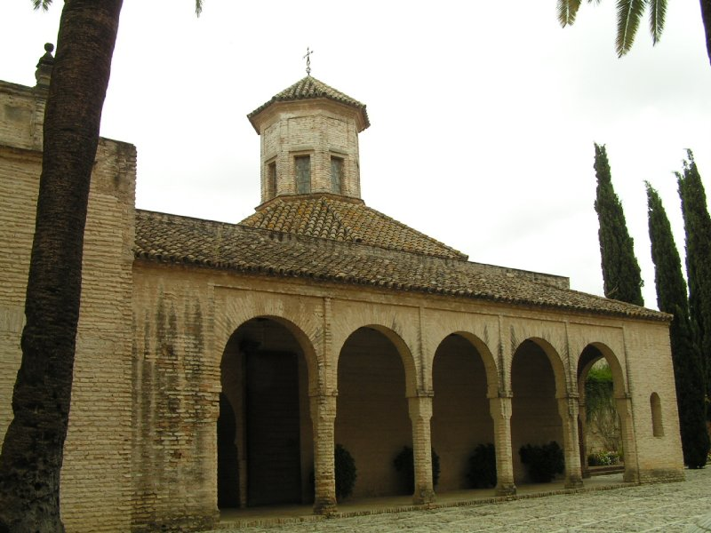 Jerez de la Frontera - Mosque at the Alcazar
