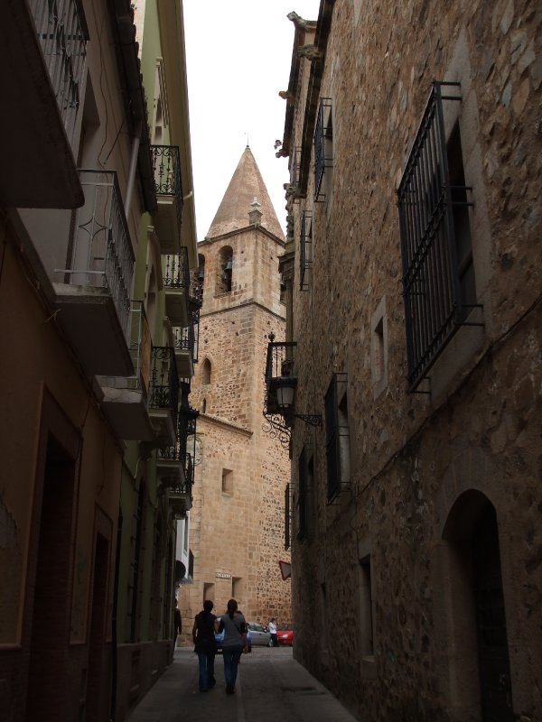 Cáceres, Old city