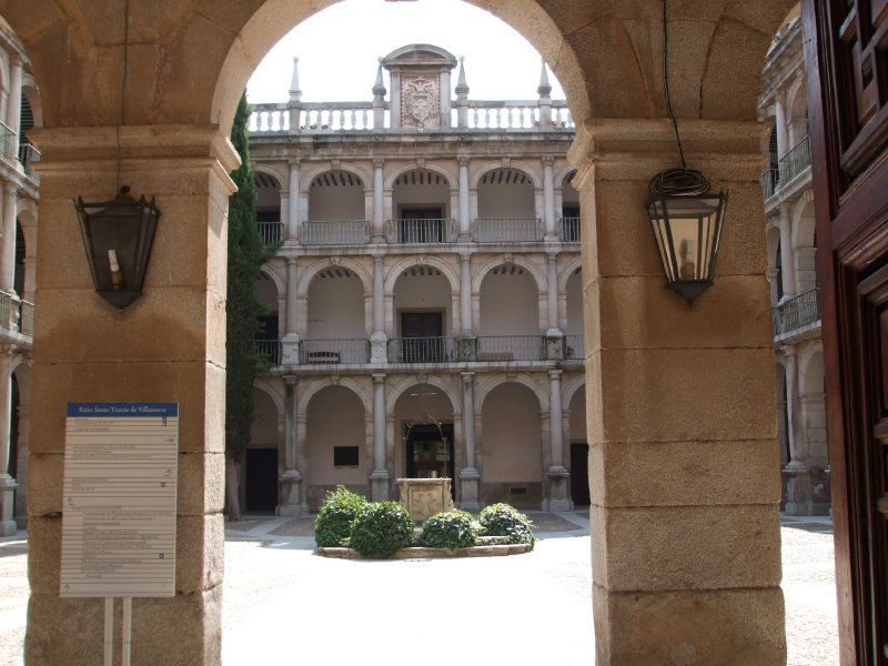 Alcal de Henares, University courtyard