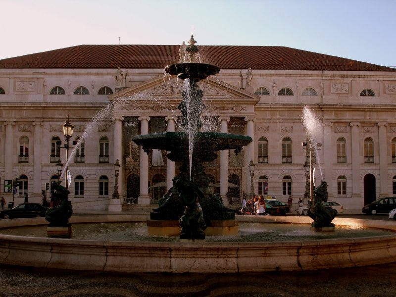 Lisbon, National Theater