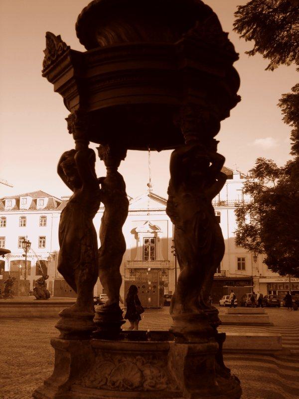 Lisbon - Fountain