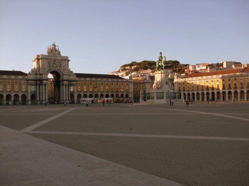 Lisbon - Praca de Comercio