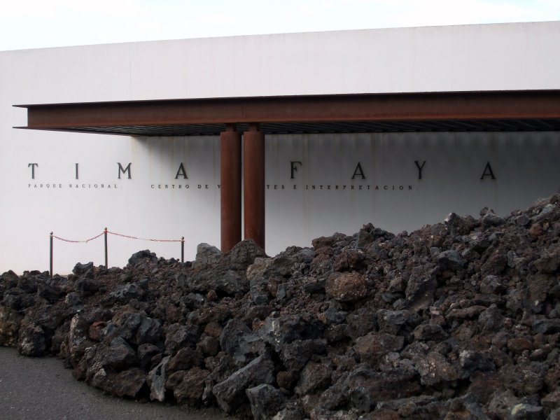 Timanfaya - Mancha Blanca visitor center