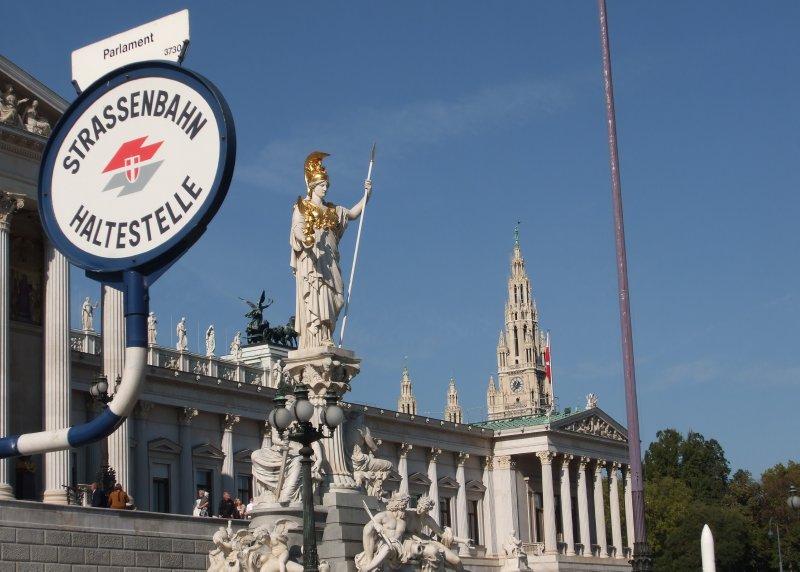 Vienna - Parlament