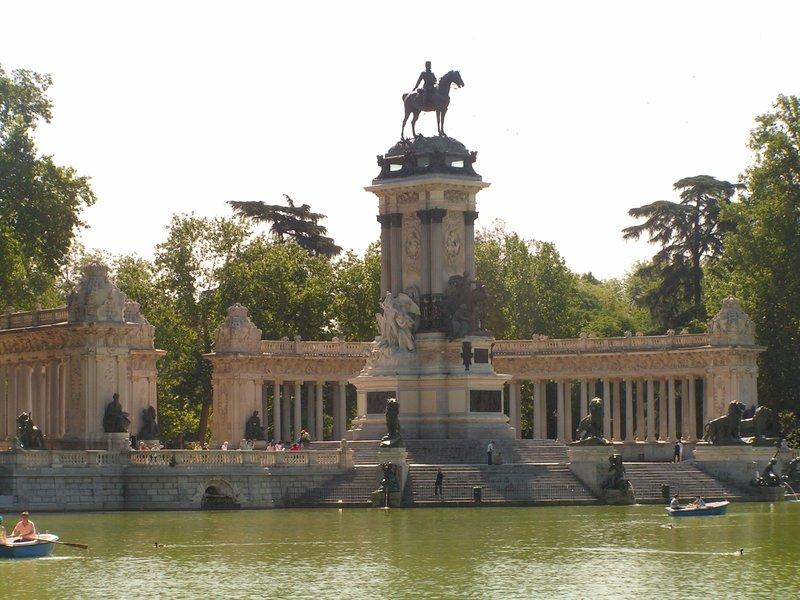 Madrid, Retiro Park