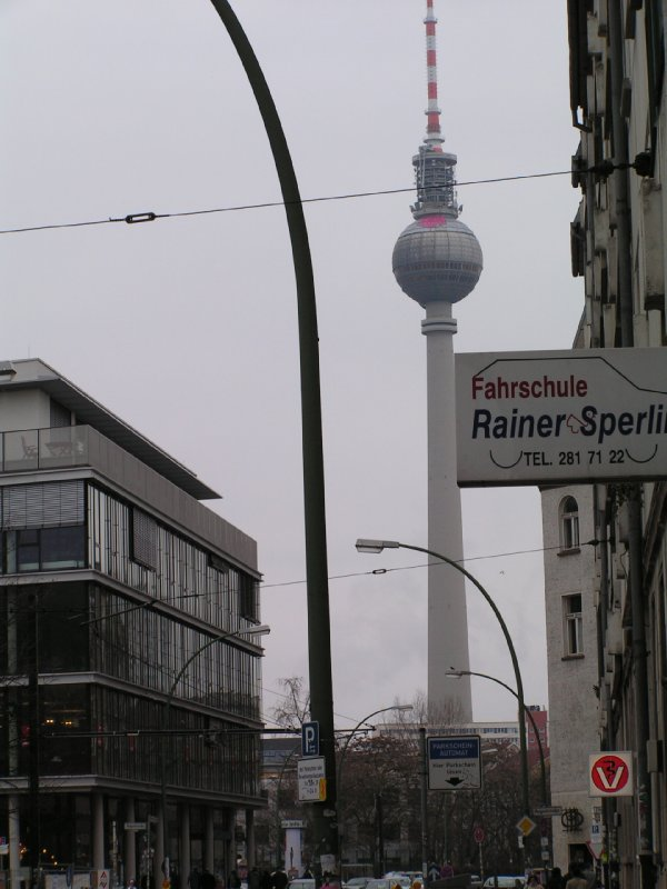 TV Turm from a distance