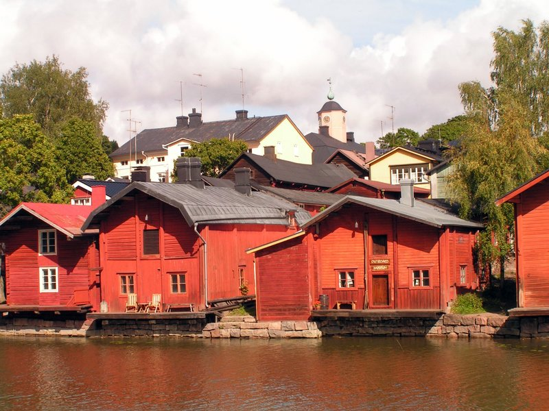 Porvoo, Red Houses