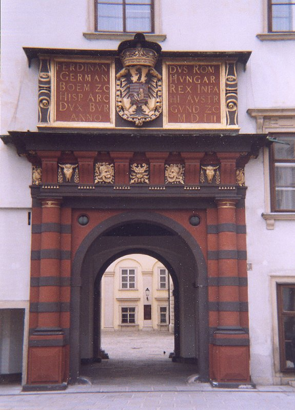 Vienna, Hofburg, Schweizertor