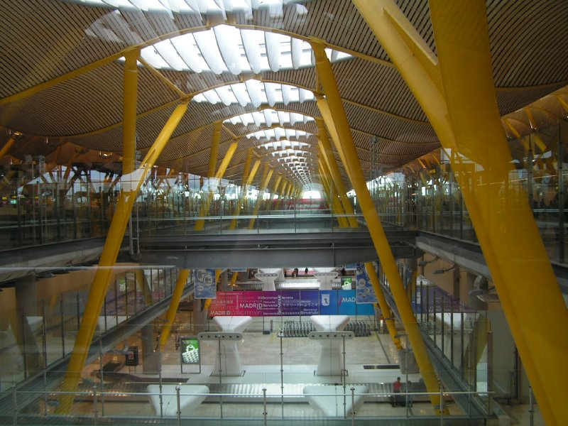Terminal 4 at Madrid Airport