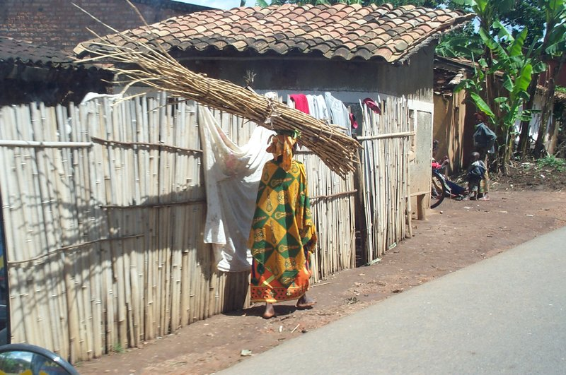 Woman in Northern Burundi