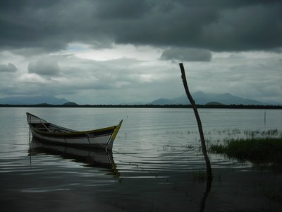 Boat at Guaraqueaba
