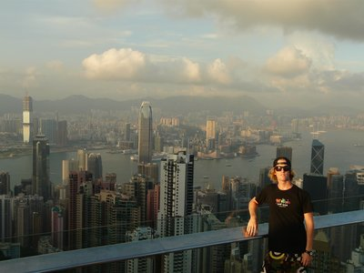Above Hong Kong City