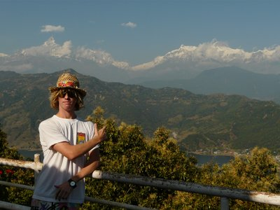 An Annapurna Backdrop