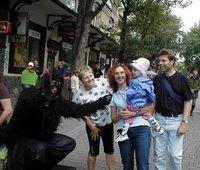 Meeting a devil in Zakopane
