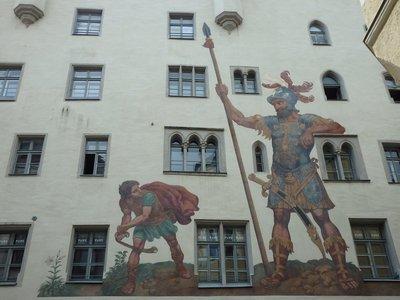 Das Goliath Haus in Regensburg