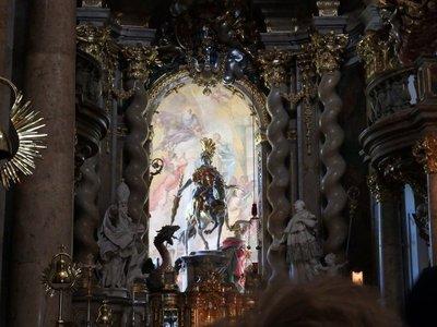Heilige Georg in der Klosterkirche Weltenburg