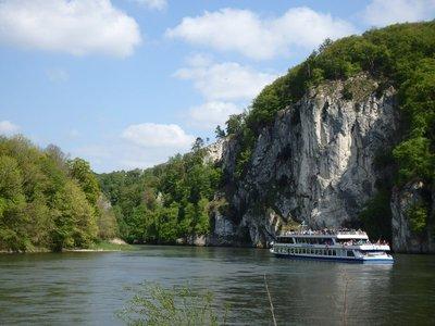 Ausflugsboot Donaudurchbruch