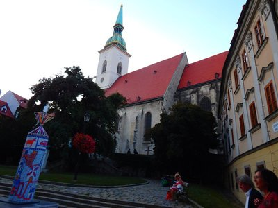 Krönungskirche St. Martin in Bratislava