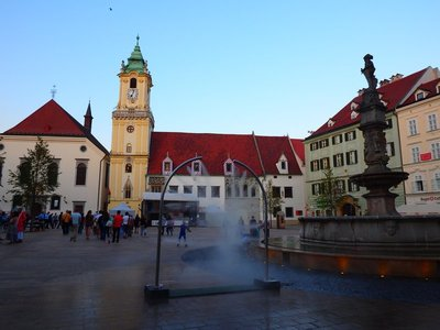 Rathaus zu Bratislava