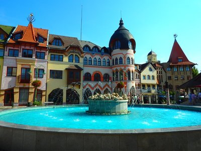Europaplatz in Komarno
