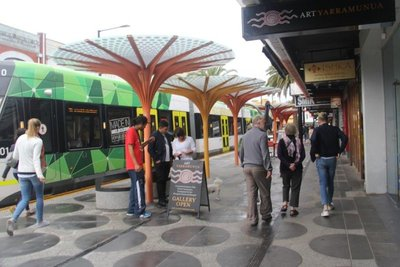 Free trams in Melbourne