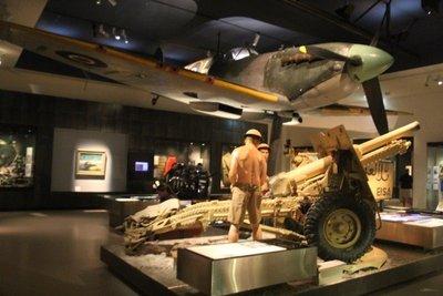 National War Memorial WWII exhibit