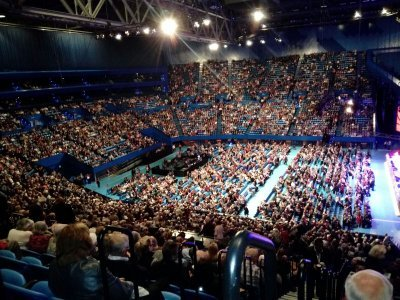 Waiting for Andre Rieu
