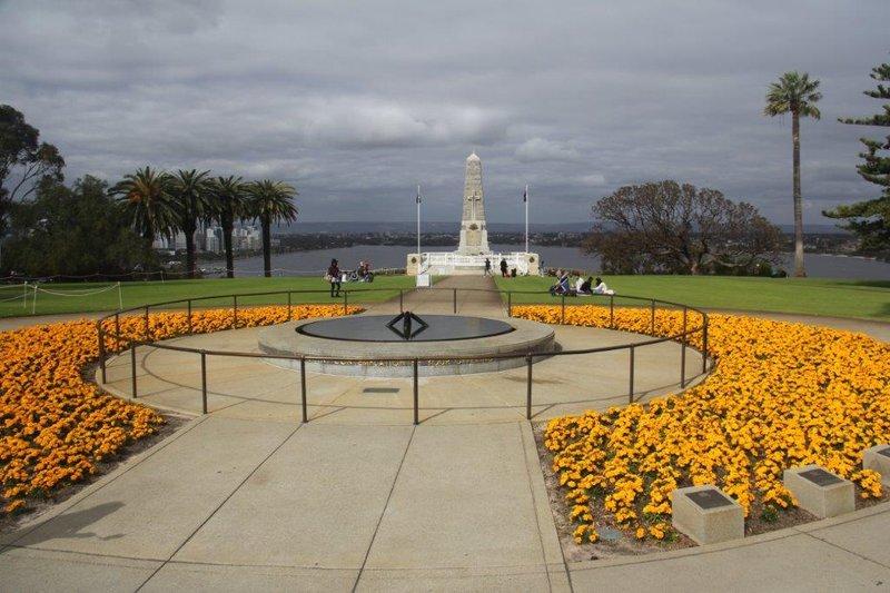 ANZAC memorial in Kings Park