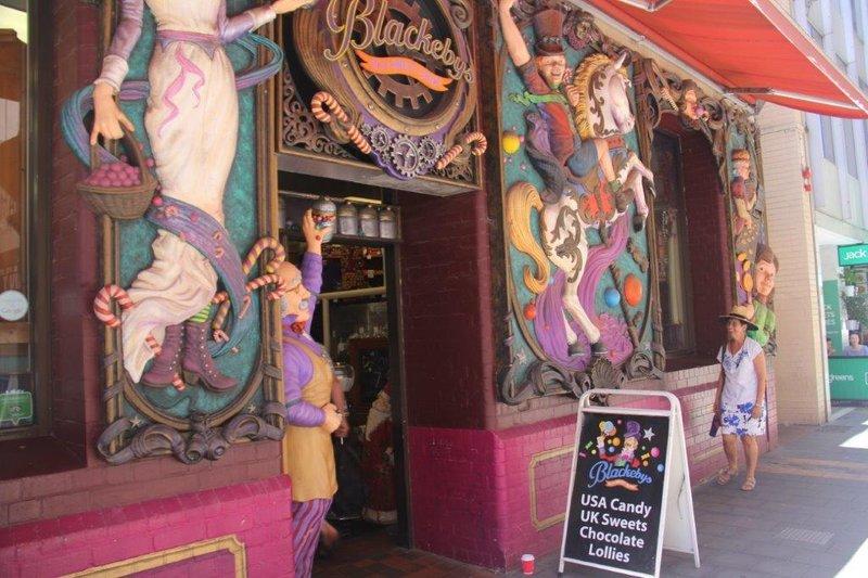 Brilliant lollie shop  in CBD