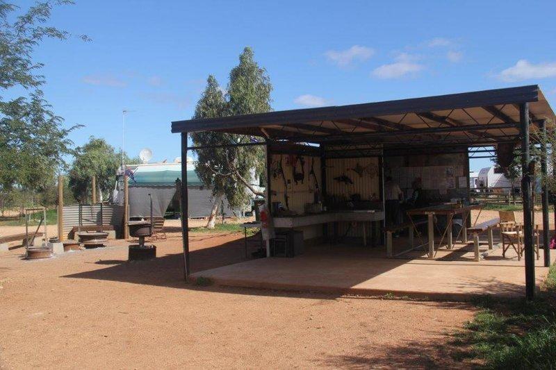 Bullara Station camp kitchen